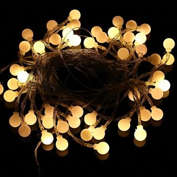 Top Şekilli Dekoratif Pilli Led Aydınlatma Top Küre Şekilli Led Işık
