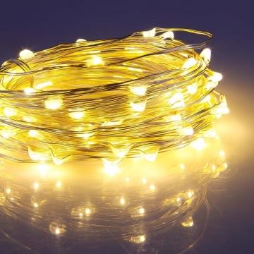 2|3|4|5|10| Metre Peri Led İnce Tel Pilli Dekoratif Led Işık Süs