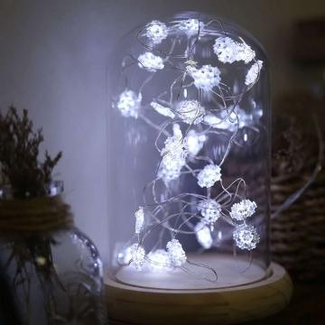 2|3|4|5|10| Metre Kar Tanesi Peri Led Pilli Led Işık Yılbaşı Dekoratif Aydınlatma