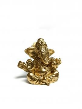 CajuArt Minyatür 5 cm Hint Ganesh Fil Buda Biblo Teraryum Süs