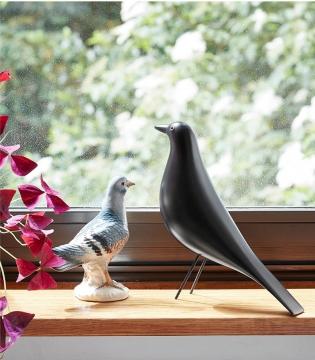 CajuArt Dekoratif Orta Boy Kuş Biblo Ev Ofis Aksesuarı